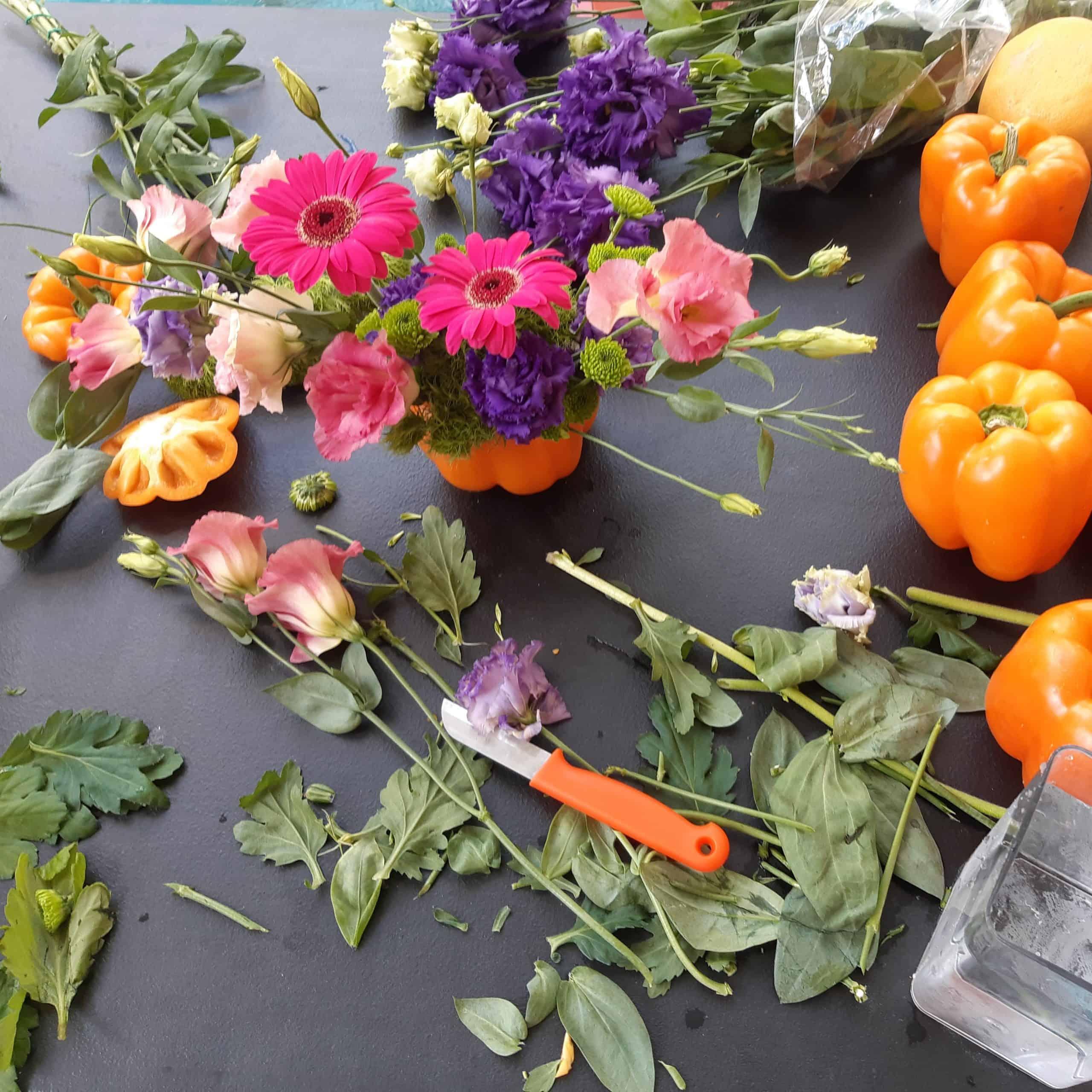 cours et stages art floral à courchevel