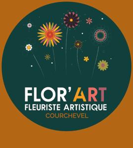 florart logo fleuriste artistique courchevel fleuriste courchevel