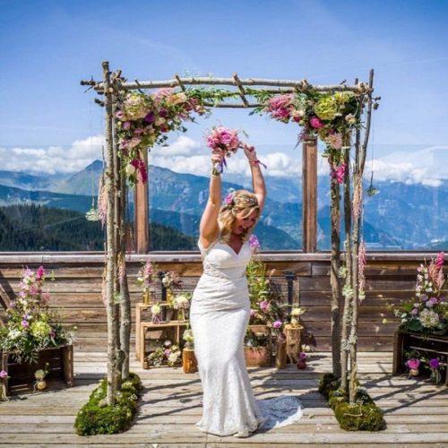 fleuriste mariage courchevel florart fleuriste courchevel bouquet de mariée courchevel