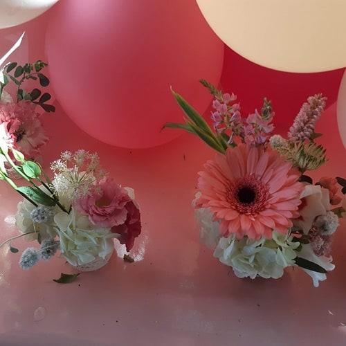 fleuriste soirée à thème courchevel fleuriste baptême courchevel fleuriste baby shower courchevel
